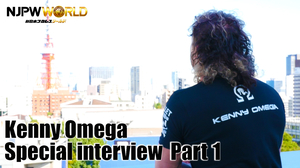 Kenyy Omega Special interview Part1画像