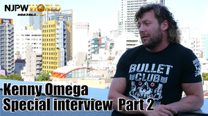 Kenyy Omega Special interview Part2画像