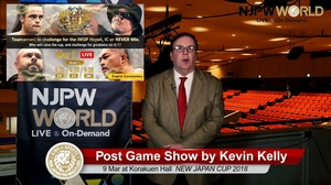 NEW JAPAN CUP 2018 9 Mar at Tokyo・Korakuen Hall Post Game Show by NJPWWORLD English Commentary画像