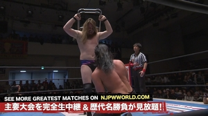 Jay White VS David Finlay(Feb 6, 2017)画像