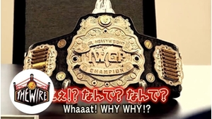 The Wire: Hiromu Takahashi gives-up his belt画像