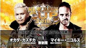 8TH MATCH NEW JAPAN CUP 2019 2ND ROUND Kazuchika Okada VS Mikey Nicholls画像