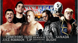 4TH MATCH Tomohiro Ishii&Juice Robinson&TJP VS