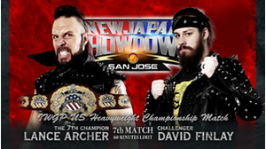 7TH MATCH IWGP US HEAVYWEIGHT CHAMPIONSHIP MATCH Lance Archer VS David Finlay画像