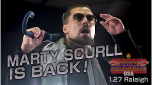 Marty Scurll returns to NJPW and issues challenge to Jay White at ROH Supercard of Honor!!画像