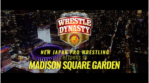 Wrestle Dynasty comes to Madison Square Garden 8/22!画像