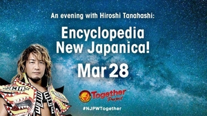 An evening with Hiroshi Tanahashi: Encyclopedia New Japanica! (English subs)画像