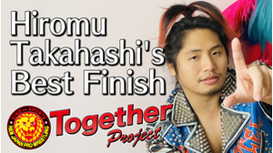 My Best Finish Hiromu Takahashi画像