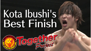 My Best Finish Kota Ibushi画像